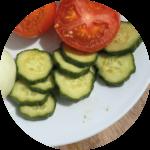Recette - Barbecue - Burger - Concombre