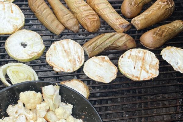 Soler - Recette - Barbecue - Légumes d'automne grillés