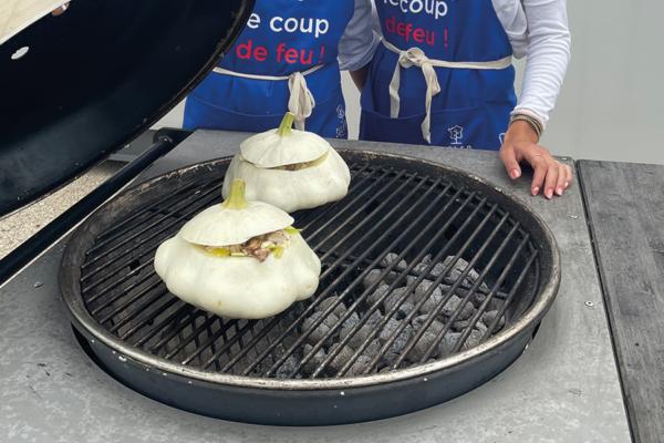 Soler - Recette - Barbecue - Pâtissons farcis
