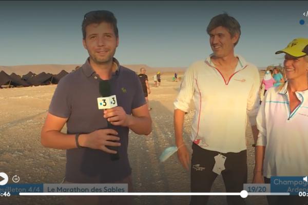 Marathon des sables France 3